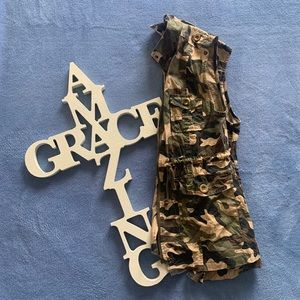 Jackets & Blazers - Camo Vest
